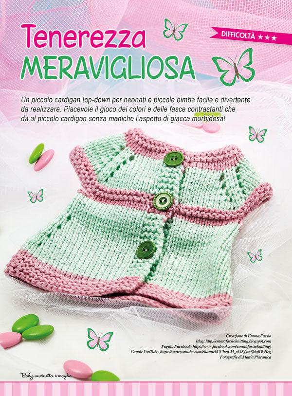 Uncinetto Facile Edicola.Creativa N 31 Baby Uncinetto E Maglia Edizioni Ema