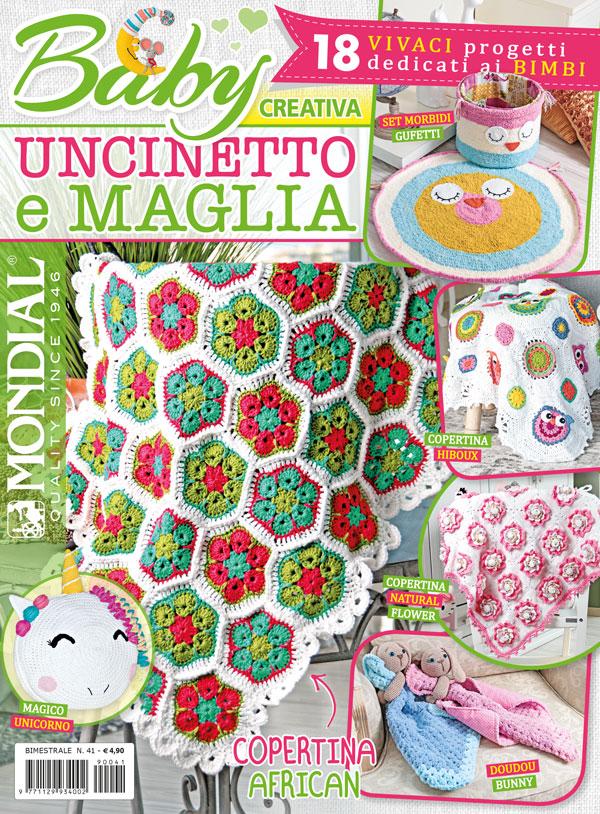 Uncinetto Facile Edicola.Creativa N 41 Baby Uncinetto E Maglia Edizioni Ema