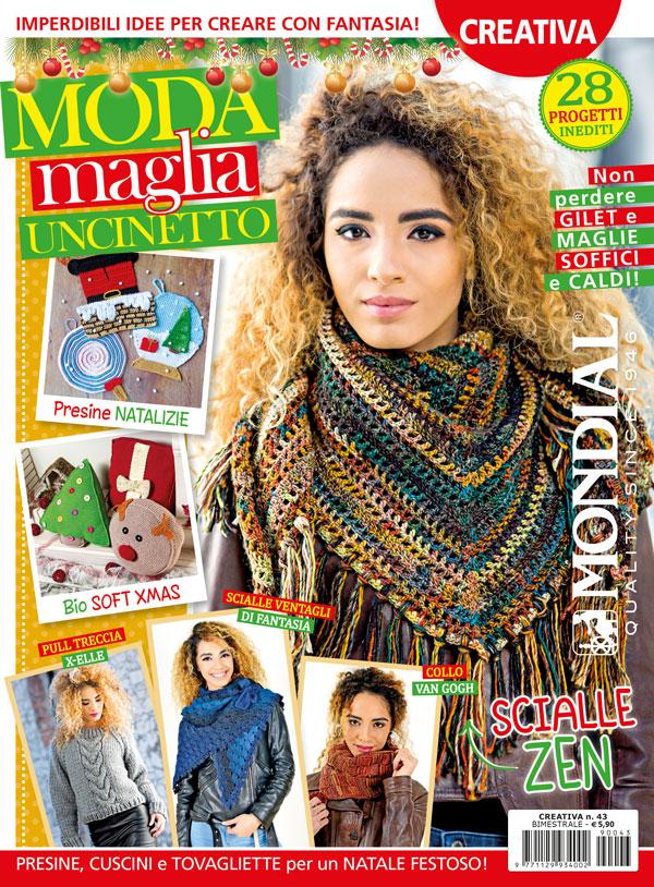 Uncinetto Facile Edicola.Creativa N 43 Moda Maglia Uncinetto Edizioni Ema